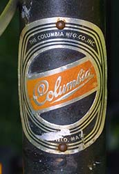 Columbia 712 1296 AA - Bicycle History