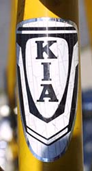 KIA 5589 Badge - Bicycle History