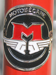 Motobecane JR9D2591 Badge - Bicycle History